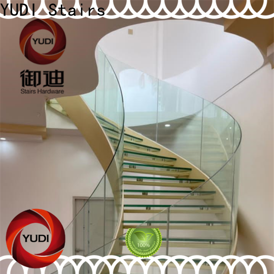 YUDI Stairs curved staircase designs cost for villa