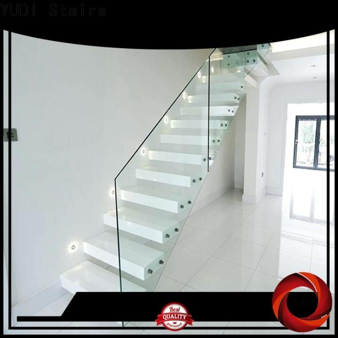 YUDI Stairs Latest floating stair treads for villa